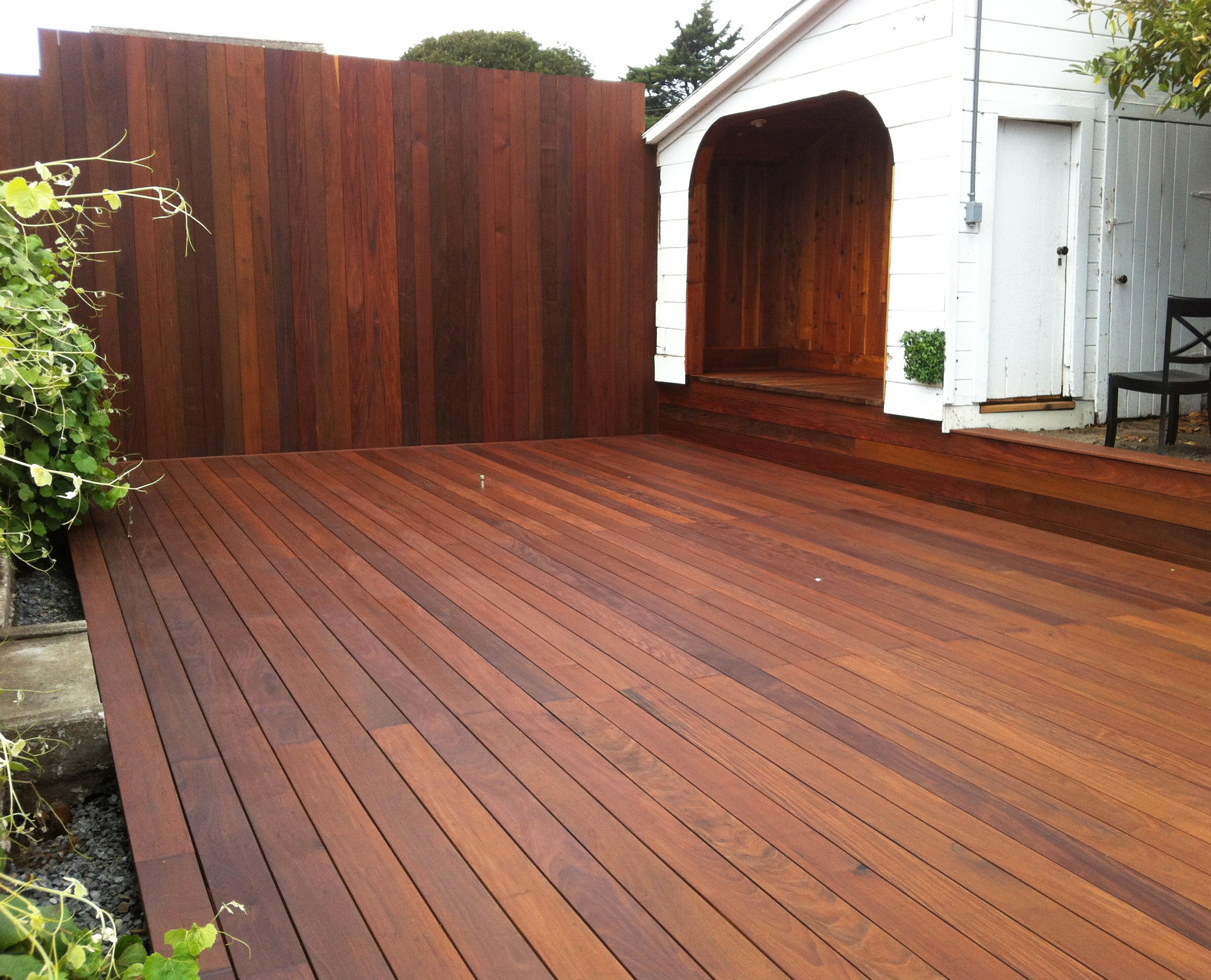 Deck building contractor sonoma marin patio covers for Ipe decking